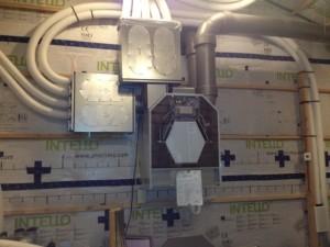 Passive house ventilation